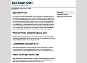eyeexamcost.com
