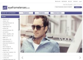 eyeframeslenses.com
