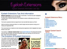 eyelashextensionstips.com