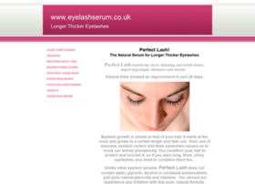 eyelashserum.co.uk