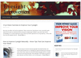 eyesightimprove.com