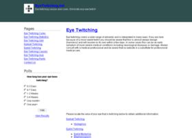 eyetwitching.net