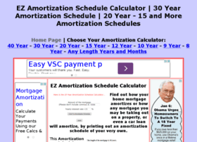 ezamortizationschedulecalculator.com