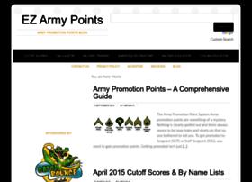 ezarmypoints.com