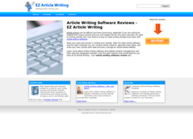 Ezarticlewriting.com