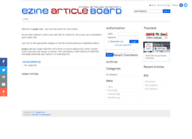 ezinearticleboard.com
