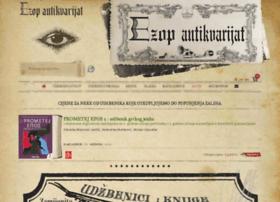 ezop-antikvarijat.hr