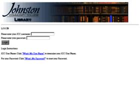 ezproxy.johnstoncc.edu