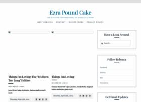 ezrapoundcake.com