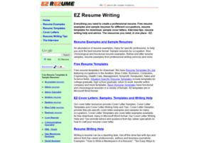ezrezume.com