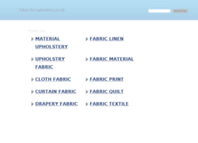 fabric-for-upholstery.co.uk