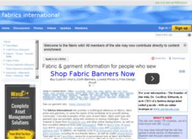 fabricsinternational.wikifoundry.com