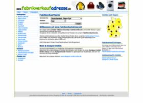 fabrikverkaufadresse.de