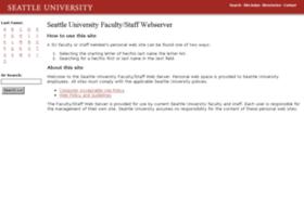 fac-staff.seattleu.edu