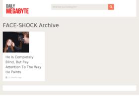 face-shock.dailymegabyte.com
