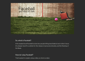 faceball.org
