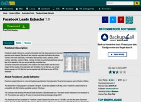 facebook-leads-extractor.soft112.com