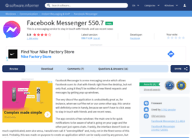 facebook-messenger.software.informer.com