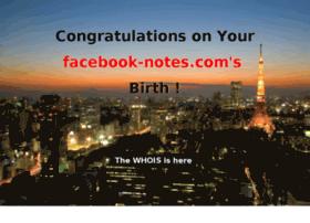 facebook-notes.com