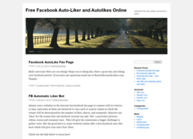 facebookautoliker.wordpress.com