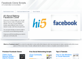 facebookclone.net