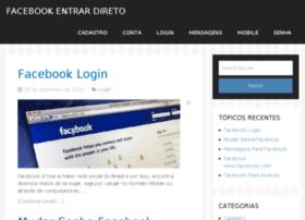 facebookentrardireto.com.br