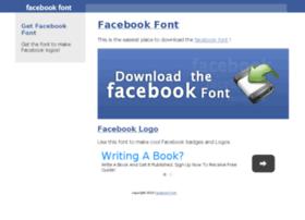 facebookfont.com