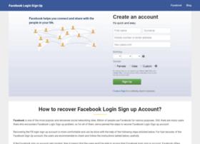 facebookloginsignup.com