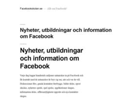 facebookskolan.se