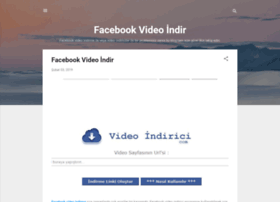 facebookvideoindir.me