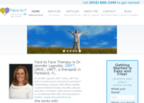 facetofacetherapy.com