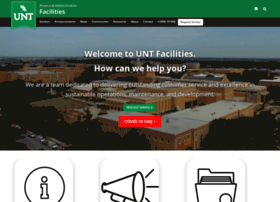 facilities.unt.edu