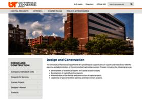 facilitiesplanning.tennessee.edu