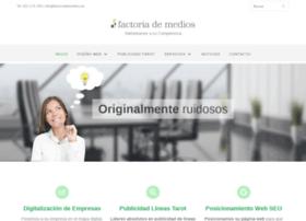 factoriademedios.es