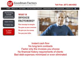 factoring.goodmanfactors.com