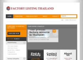 factory-listing-thailand.com