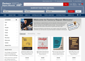 factoryrepairmanuals.com