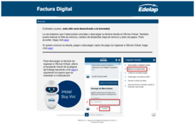 facturaweb.edelap.com.ar