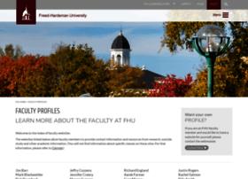 faculty.fhu.edu
