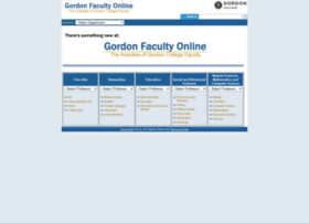 faculty.gordon.edu