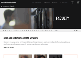 faculty.hampshire.edu