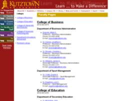 faculty.kutztown.edu