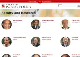 faculty.publicpolicy.umd.edu