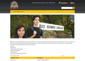 faculty.riohondo.edu