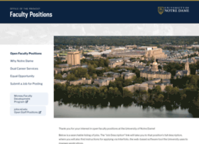 facultypositions.nd.edu