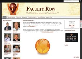 facultyrow.com
