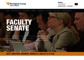 facultysenate.wvu.edu