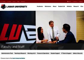 facultystaff.lamar.edu