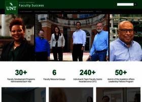 facultysuccess.unt.edu