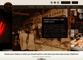 faidleyscrabcakes.com